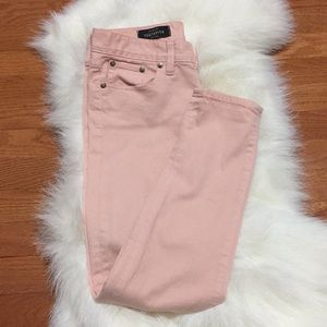 J.Crew Peach Toothpick Ankle Jeans Size 26